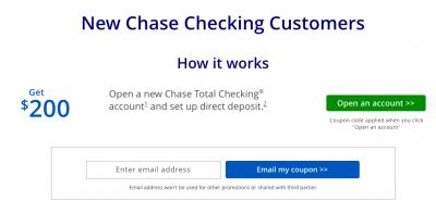 Chase Bonus