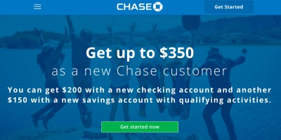chase up to $350