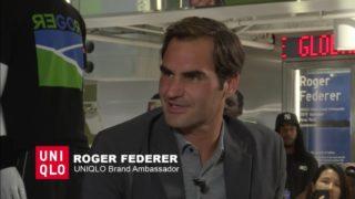 Federer Uniqlo Q&A