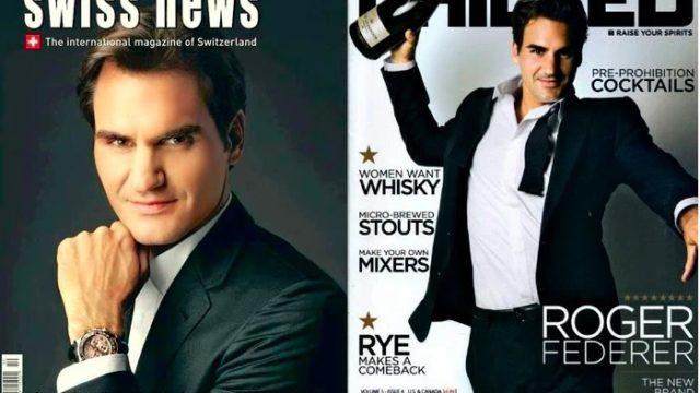 Federer magazine
