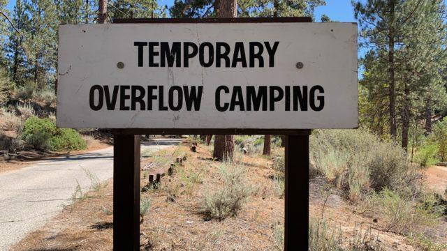 Overflow campground
