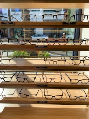 Warby Parker shelf