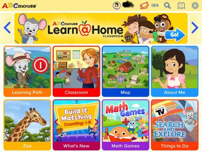 ABC mouse home
